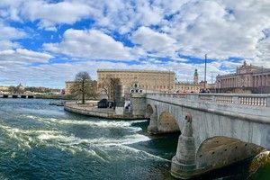 Stockholm Hafen