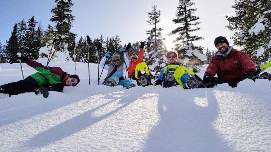 Wonderful ski trip with friend to Krimml in Austria