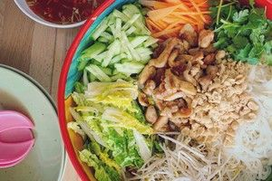 Noodle salad recipe